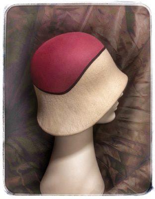 Chapeau Feutre 2 couleurs