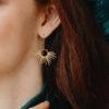 Boucles D'oreilles en Laiton L.O.L.A