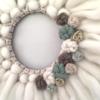 Couronne Fluffy & Flowers - SoBoho Macramés