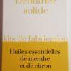 Kit Dentifrice Solide - Le Chapeau