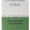 Kit Déodorant Solide - Le Chapeau Vert