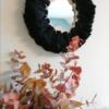 Miroir Fluffy Noir - SoBoho Macramés