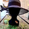 Le chapeau bleu avec effet ailettes - Alice au pays de mes rêves